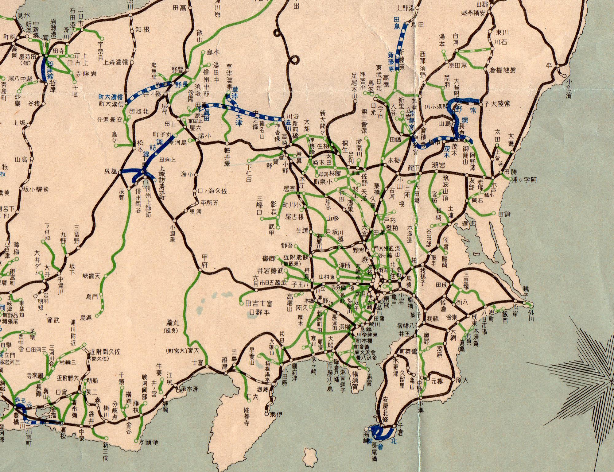 関東地方 : 日本地図 関東地方 : 日本